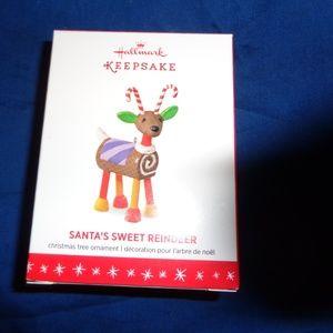2016 Hallmark Keepsake Santa's Sweet Reindeer